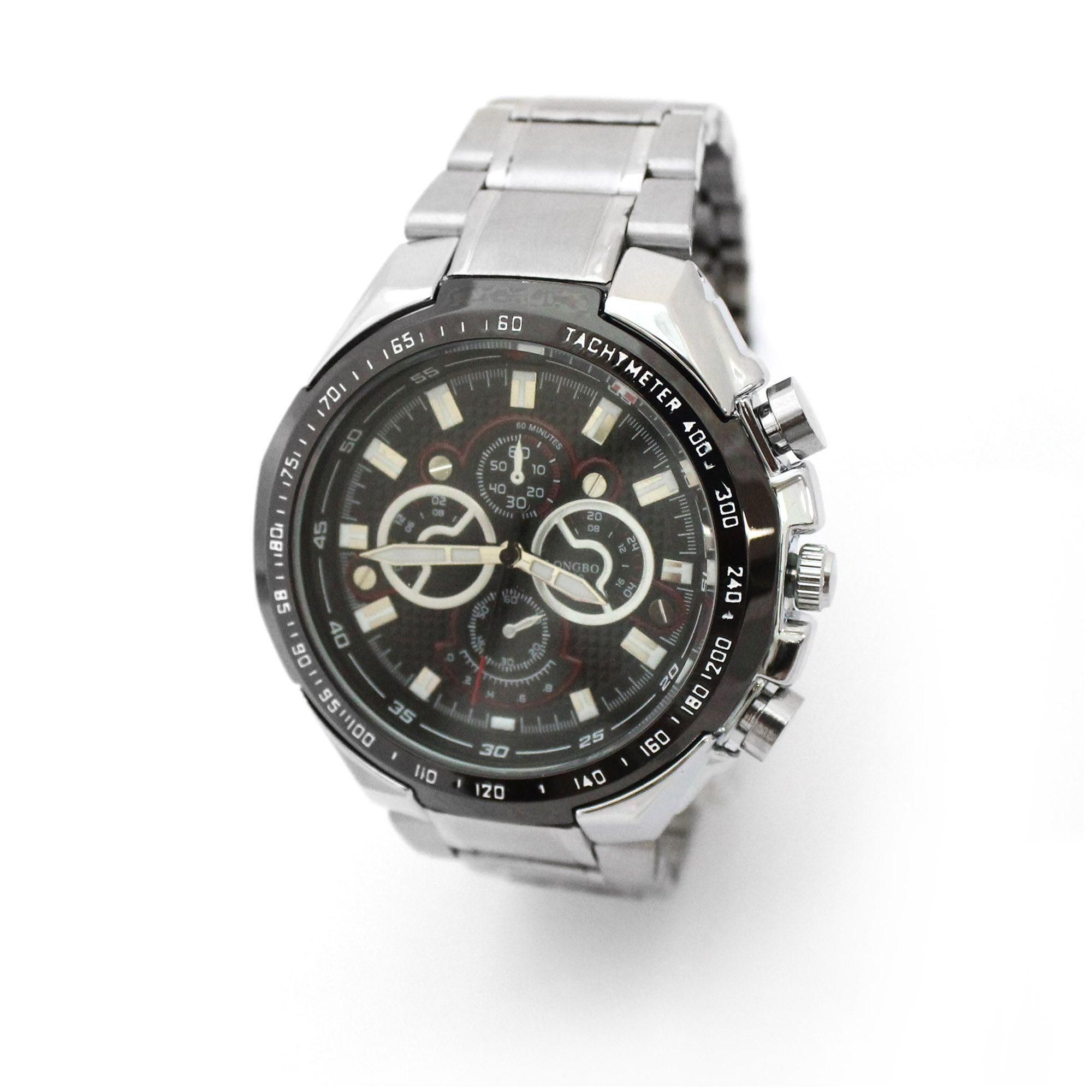 Silver Longbo Men's Watch $15