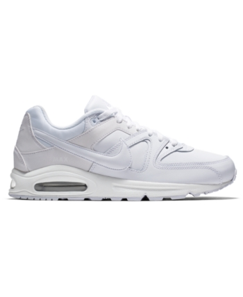 717d87ff4e77 Nike Men s Air Max Command Leather Casual Sneakers from Finish Line - White  8