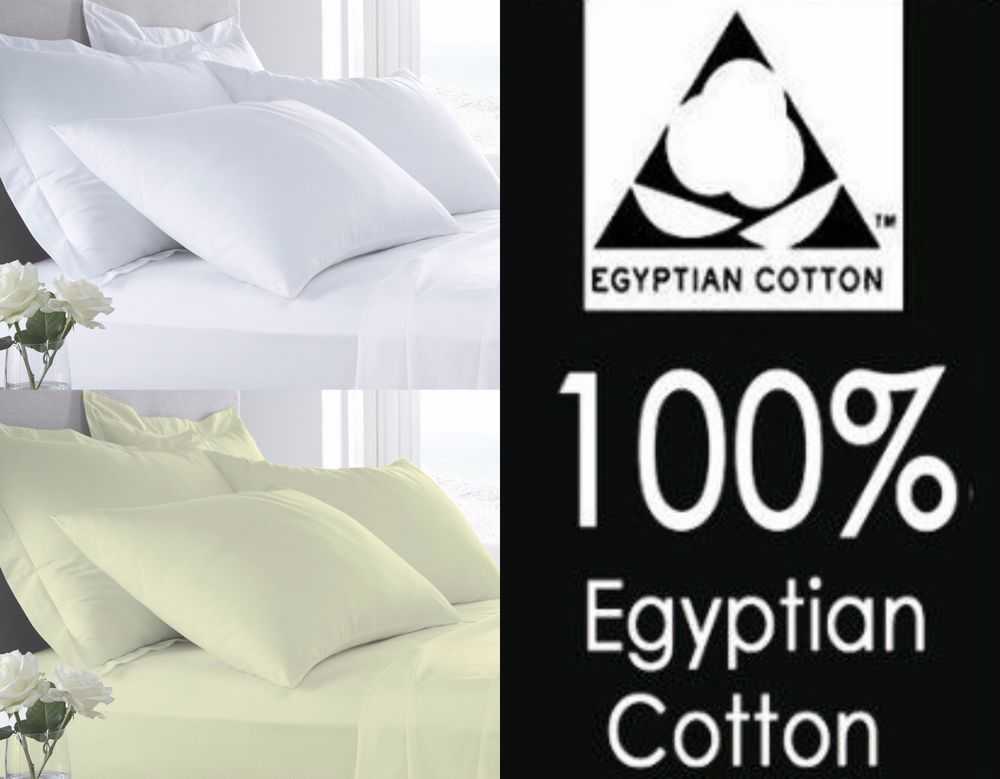 Details About 400 Thread Hotel Quality Egyptian Cotton Fitted