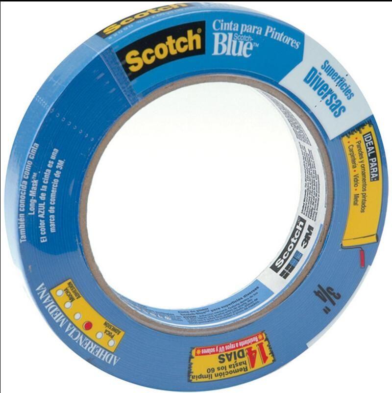 3m 2080 75a 3 4 X 60yd Painters Safe Release Painters Masking Tape 17078 Painters Tape Masking Tape Tape