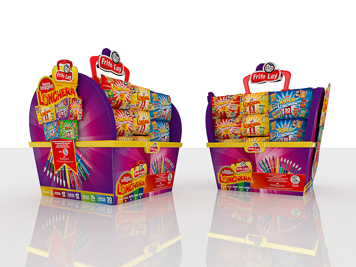 Arume Frito Lay Y Faber Castell On Behance Frito Lay Faber Castell Sale Design