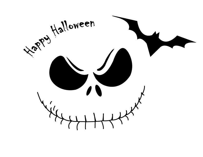photo tpgpumpkin-skeletonbat.png | Print Halloween | Pinterest