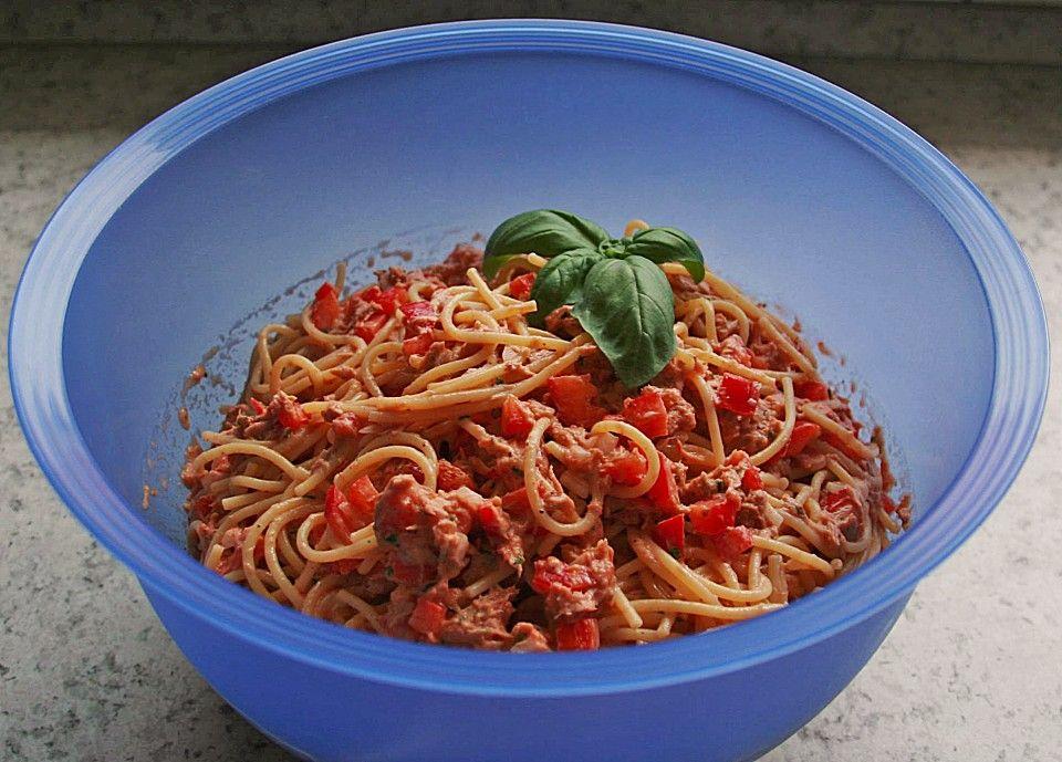 spaghetti thunfisch salat von kristina chefkoch