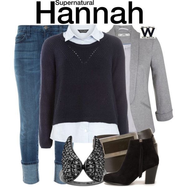 Inspired by Erica Carroll as Hannah on Supernatural