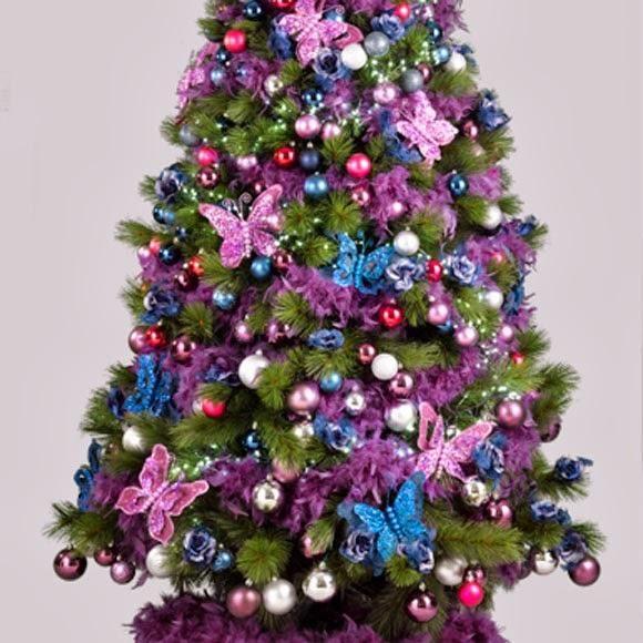 decoracion de arboles de navidad buscar con google