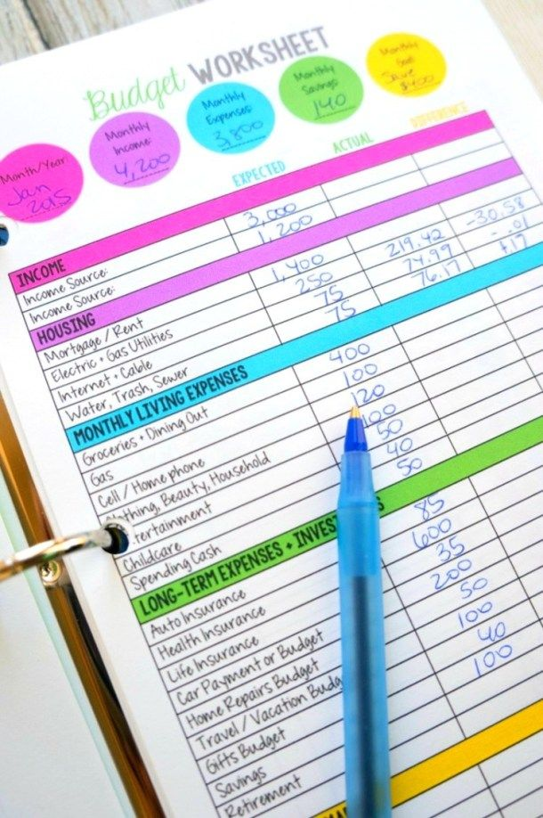 20 Free Budget Printables You Need To Use In 2019 (With