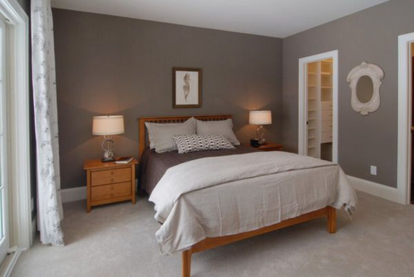 Simple Master Bedroom With Pine Furniture   Natural Pine Master Bedroom  Furniture