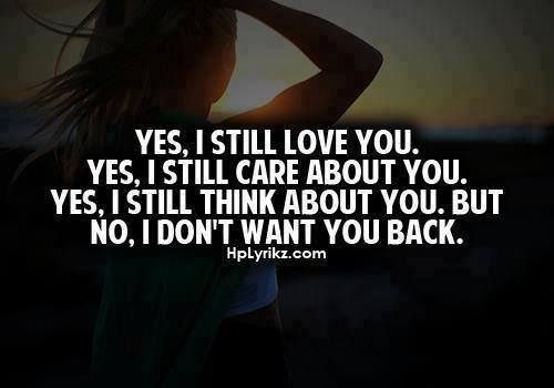You Still Care Quotes Yes I Still Love You Yes I Still Care