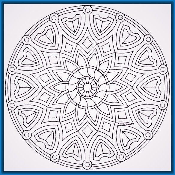 Las Mejores Imagenes De Mantras Para Dibujar Dibujos De Mandalas