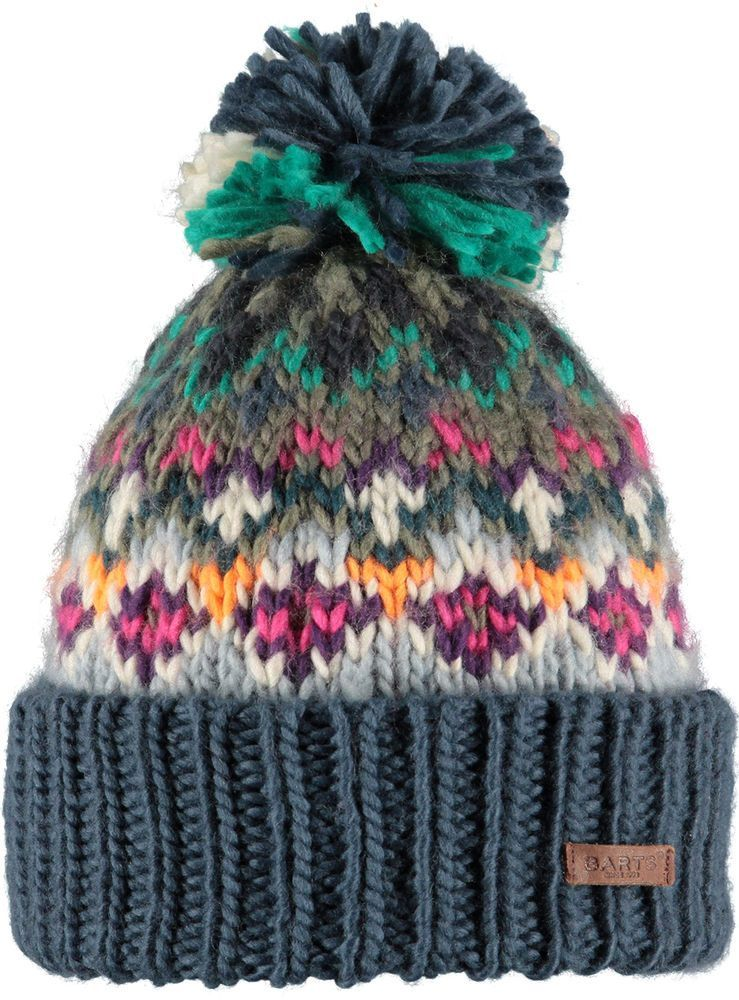 552eee3b6d8f9 NEW 2016 BARTS CARMEN OLD BLUE 0693004 ADULT BEANIE POM HAT LADY WOMEN  MULTI in Clothes, Shoes & Accessories, Women's Accessories, Hats | eBay