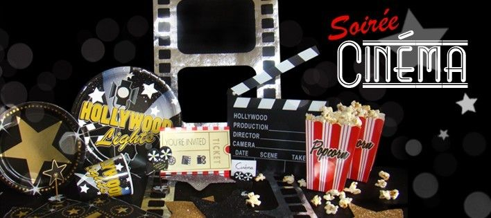 anniversaire theme cinema