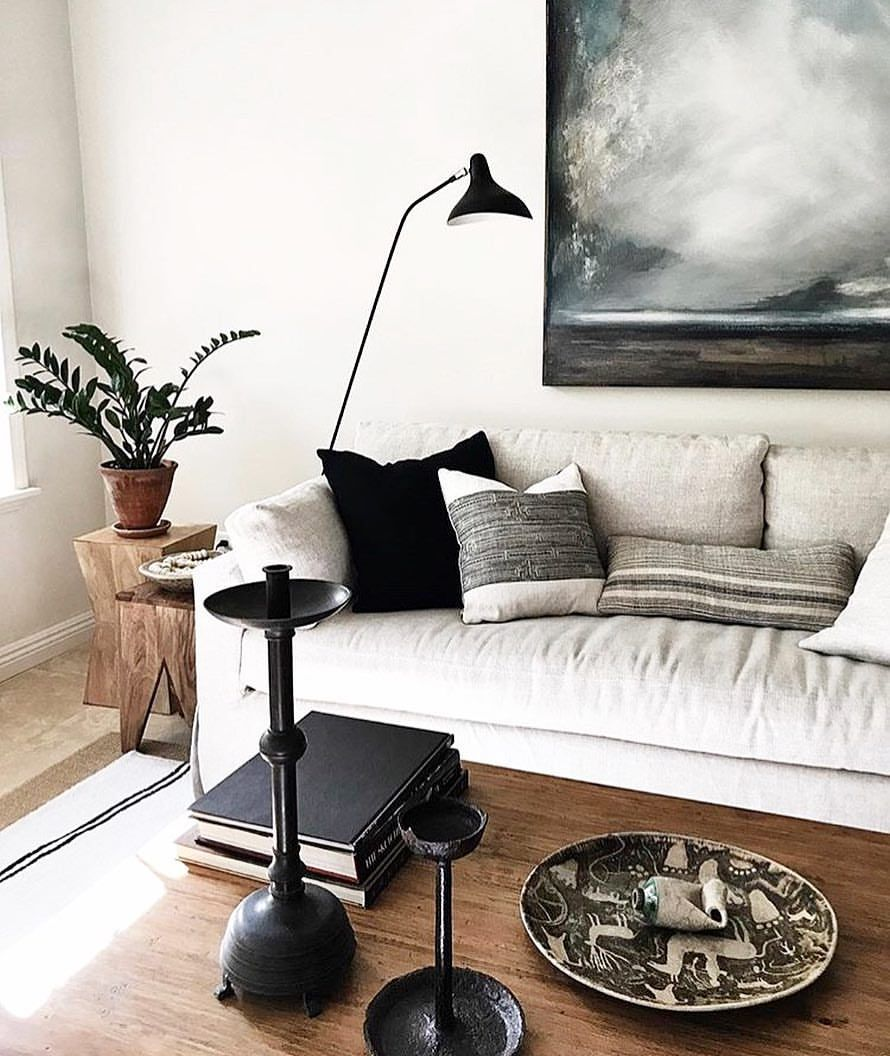 """202 Likes, 9 Comments - J o d y L e e (@indiebungalow) on Instagram: """"That INDIEbungalow pillow is looking right at home with her new family. Who wouldn't want to live…"""""""