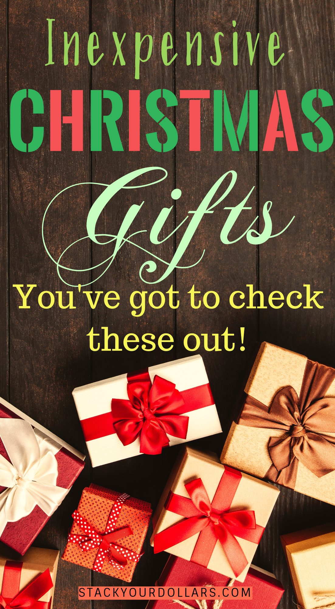 Unique And Cheap Gifts Under 50 On Amazon Inexpensive Christmas Gifts Inexpensive Christmas Unique Christmas Gifts