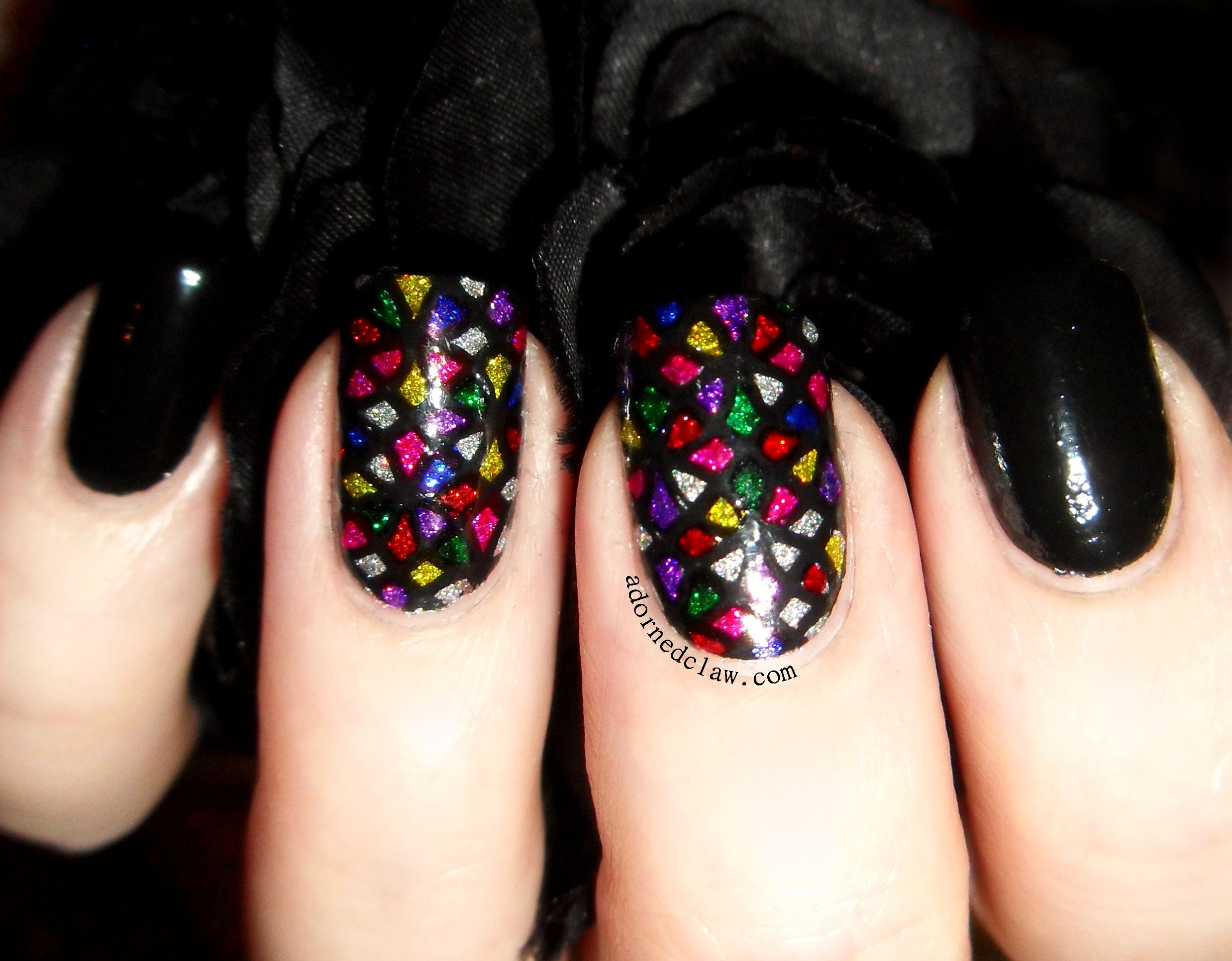 Stained Glass Nail Art | Beauty/Make Up | Pinterest | Rimmel