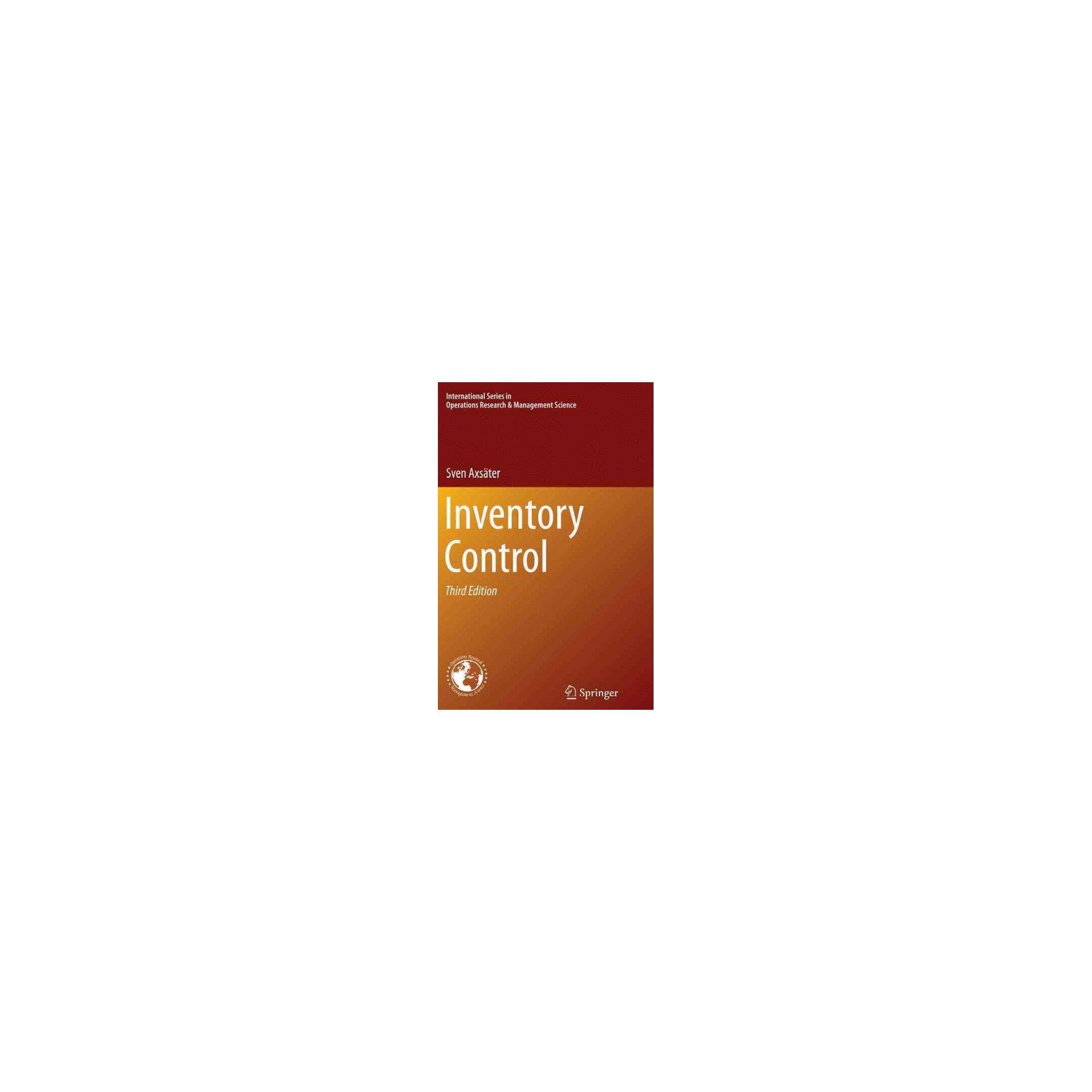 Inventory Control (Paperback) (Sven Axsu00e4ter)