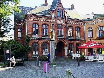 Willy Brandt Platz - Flensburg, Germany