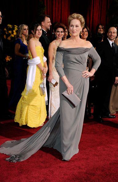 01a5222c9d3 Meryl Streep Evening Dress