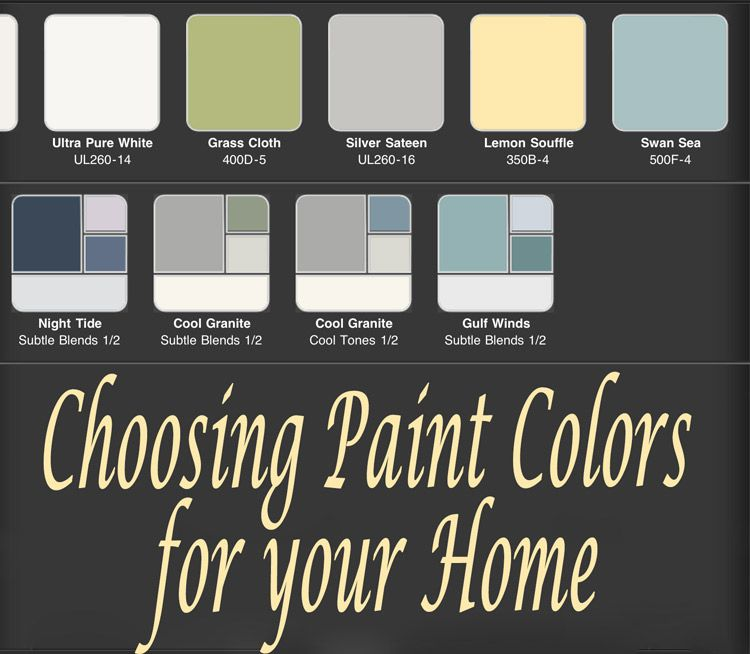 tools for choosing paint colors | home- colors, finishes and