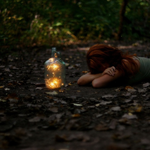 One Of My Favorite Childhood Memoriescatching Fireflies At My