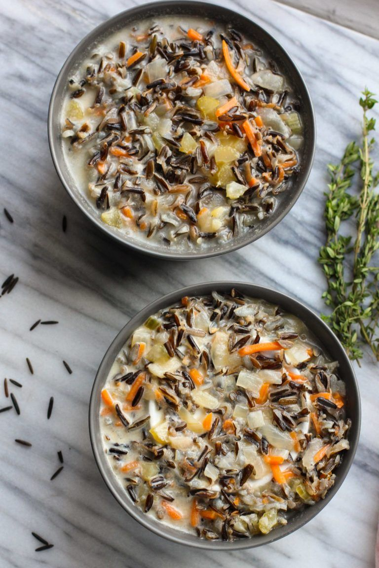 Minnesota Wild Rice Soup | Recipe (With images) | Wild ...