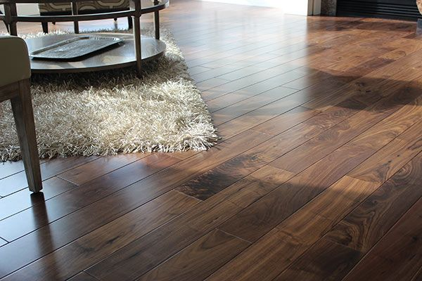 Natural Walnut From Our Hacienda Collection Sent In By Vilghomestores Hardwood Installation Hallmark Floors Floor Coverings