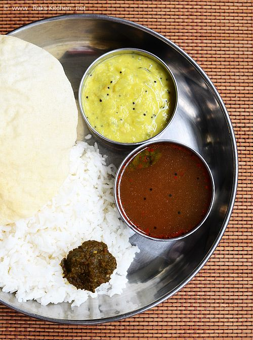Lunch menu 22 easy south indian lunch lunches pepper and easy kothamalli thogayalpepper rasamchow chow kootu forumfinder Image collections