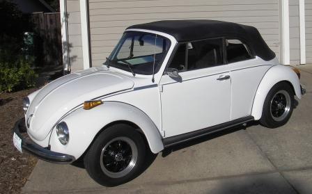 1973 VW Convertible Super Beetle - $ 4900 (Santa Barbara ...