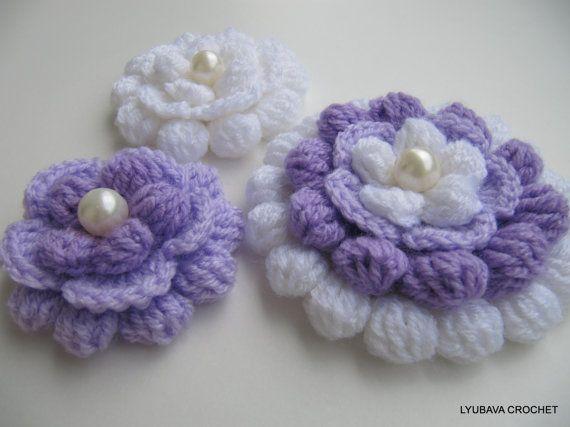 Big Flower Crochet Pattern Beautiful Crochet by LyubavaCrochet ...
