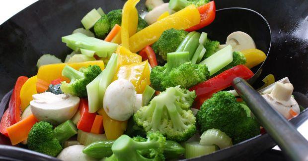 Pfannengemüse - Rezept Von Kenwood | Essen | Pinterest | Essen