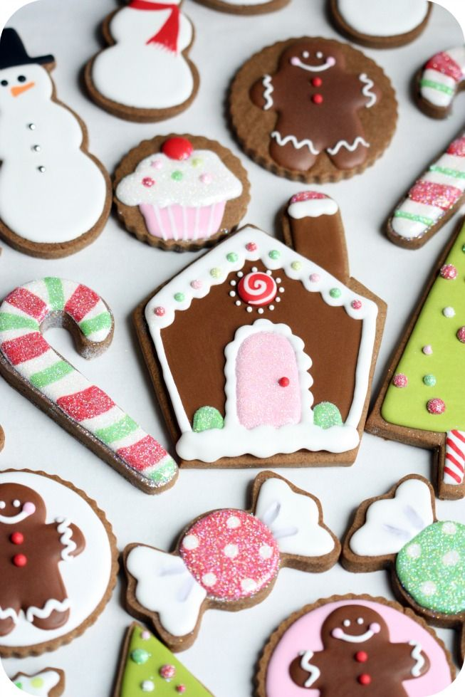 Merry merry Christmas cookies!!! Ridiculously DARLING!!!