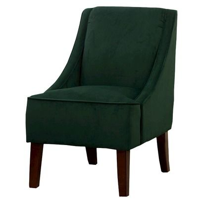 threshold swoop chair green velvet for the home 14725 | fc2086bc6ba44d0561f238a8b14725b7