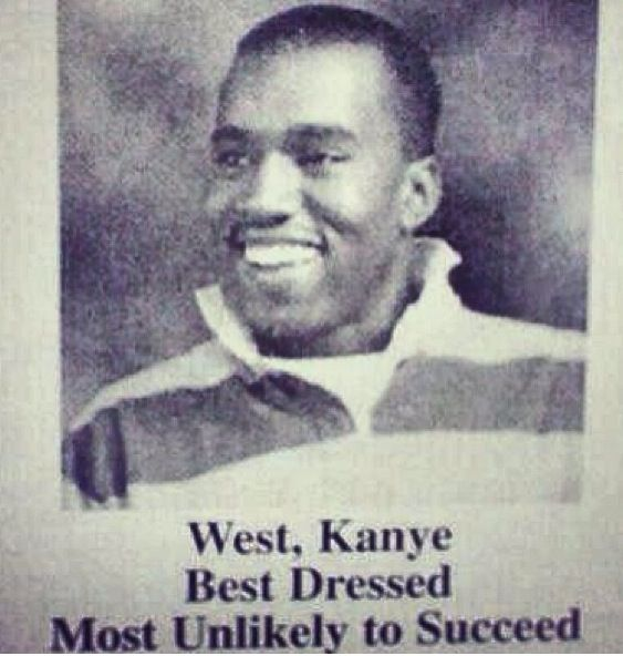 Oh The Irony Yearbook Photos Success Video Kanye