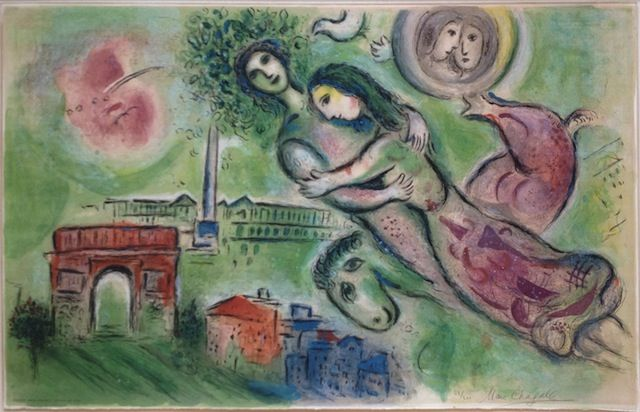 Marc Chagall's Romeo and Juliet