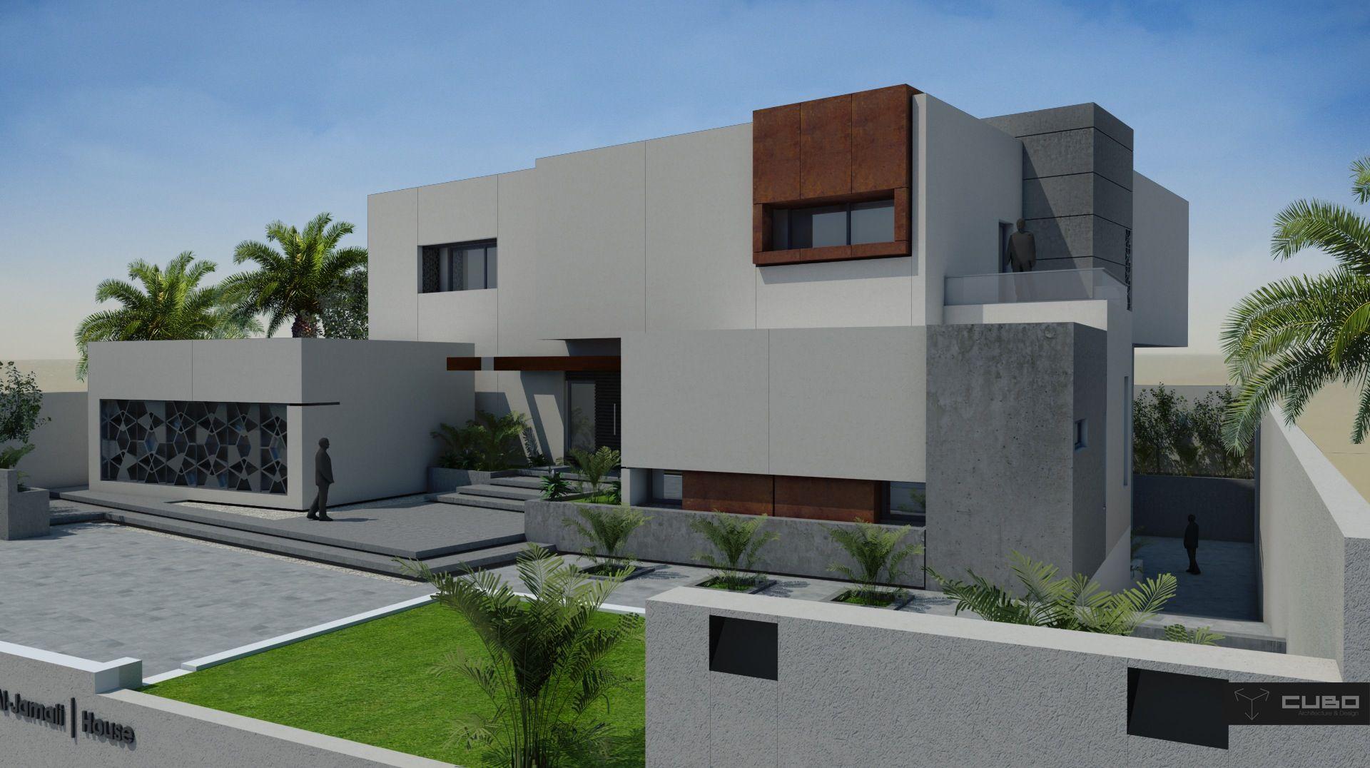 Modern house in doha qatar design by cubo