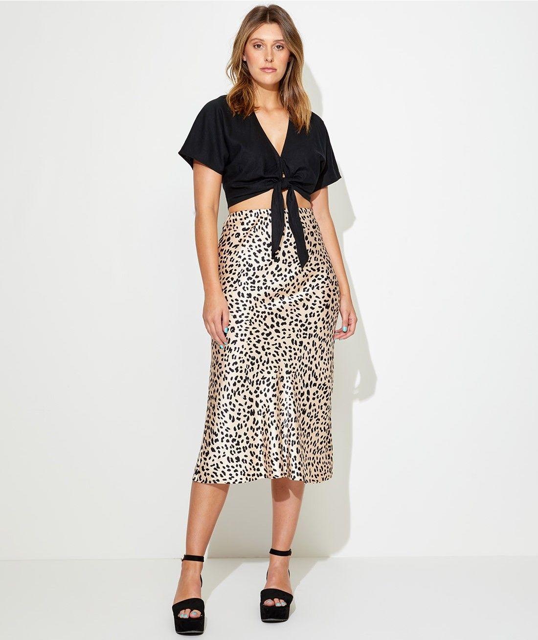 645d5d60e Animal - Satin Slip Skirt - Clothing - Sportsgirl | Personal style ...