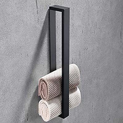 Melairy 40cm/16inch 304 Stainless Steel Towel Rail