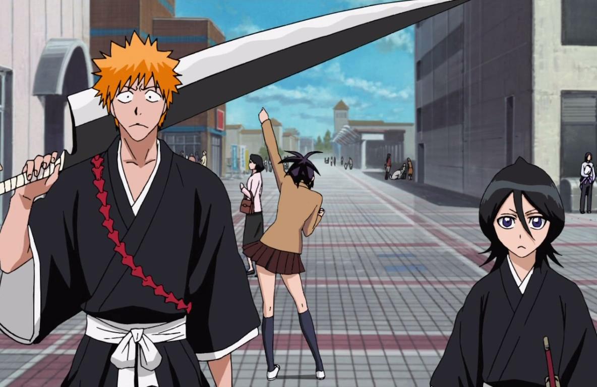 Ichigo Kurosaki Image Gallery Bleach Wiki Fandom In 2020 Ichigo And Rukia Bleach Anime Kido