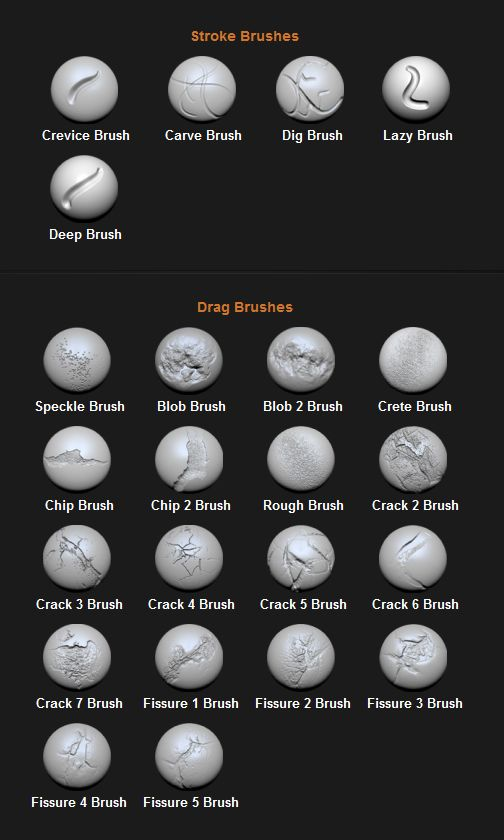 I have posted free custom zbrush brushes on my site  Have a look if