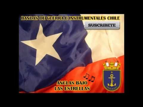 "Marcha de Armada Chilena - ""Anclas bajo las estrellas"" / Chilean navy march - ""Anchors under the Stars"""