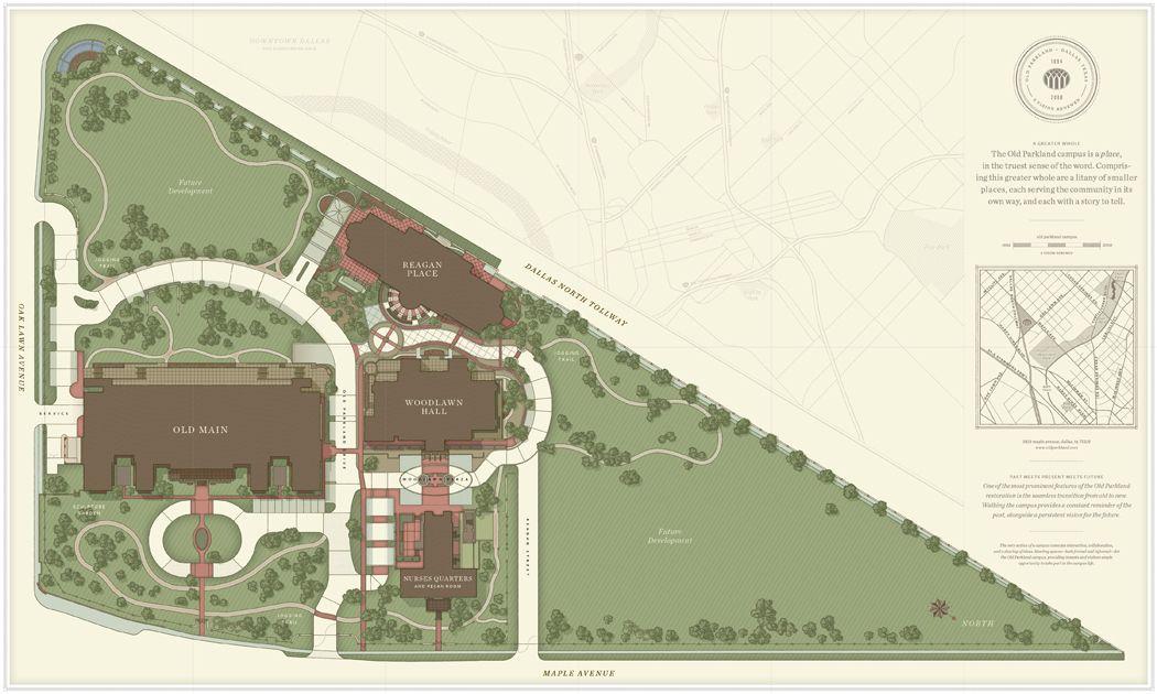 Parkland Campus Map.Site Map Old Parkland Dallas Tx Campus Maps Campus Map Map