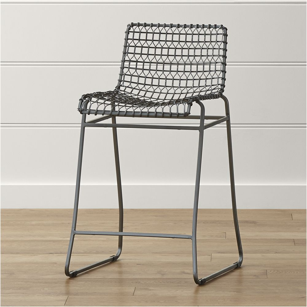 Tig Metal Counter Stool Reviews Crate And Barrel
