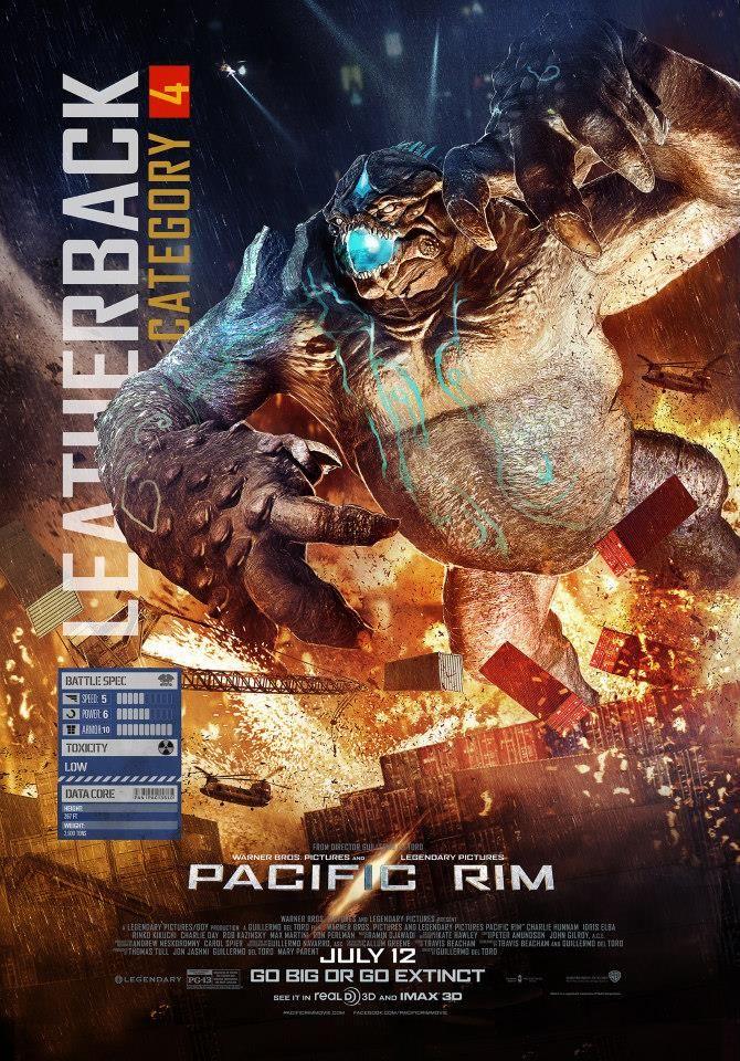 Pacific Rim New Kaiju Clip Featurette Banner And Posters Geektyrant Pacific Rim Pacific Rim Movie Pacific Rim Jaeger