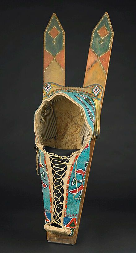 Comanche Baby Board Carrier Native Beaded Native