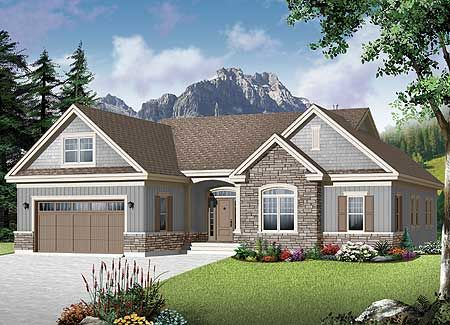 Plan 22367dr Flexible Family Home Plan Craftsman Style House Plans Family House Plans Craftsman House