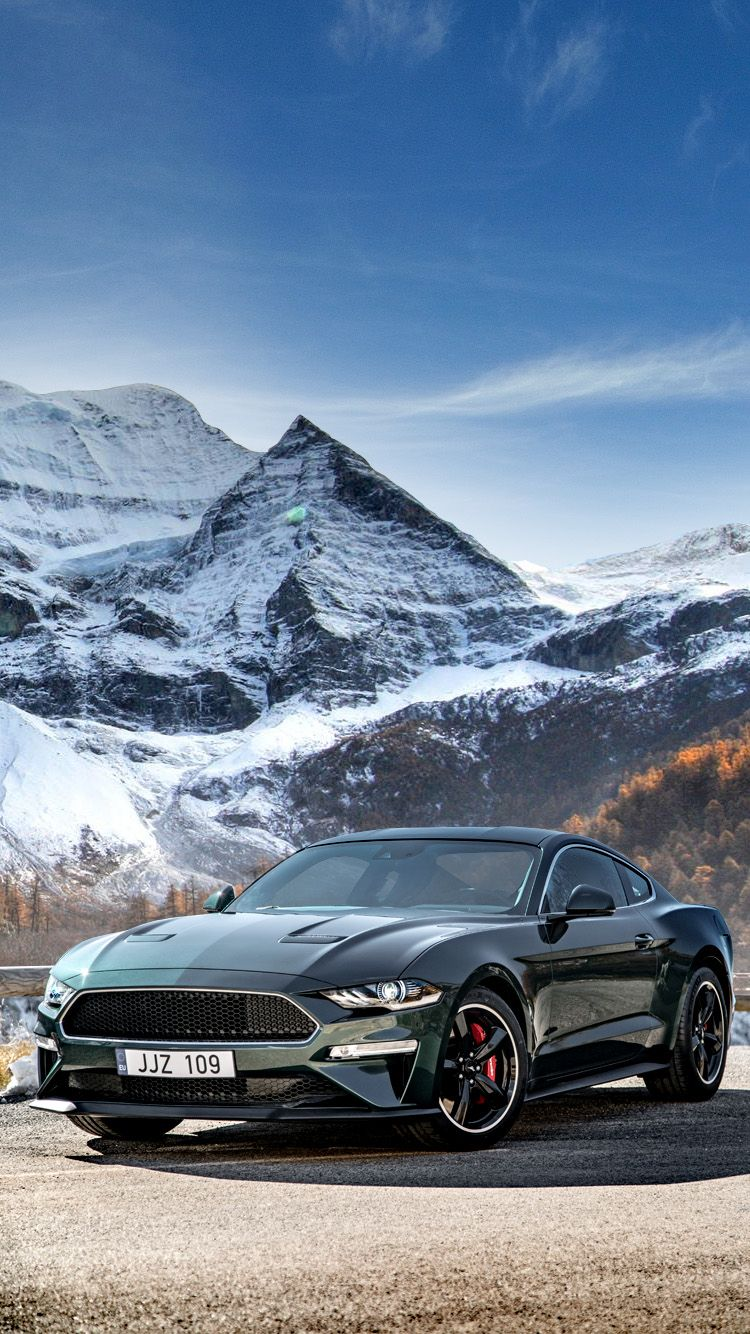 Ford Mustang 2018 Universal Phone Wallpapers Backgrounds Super