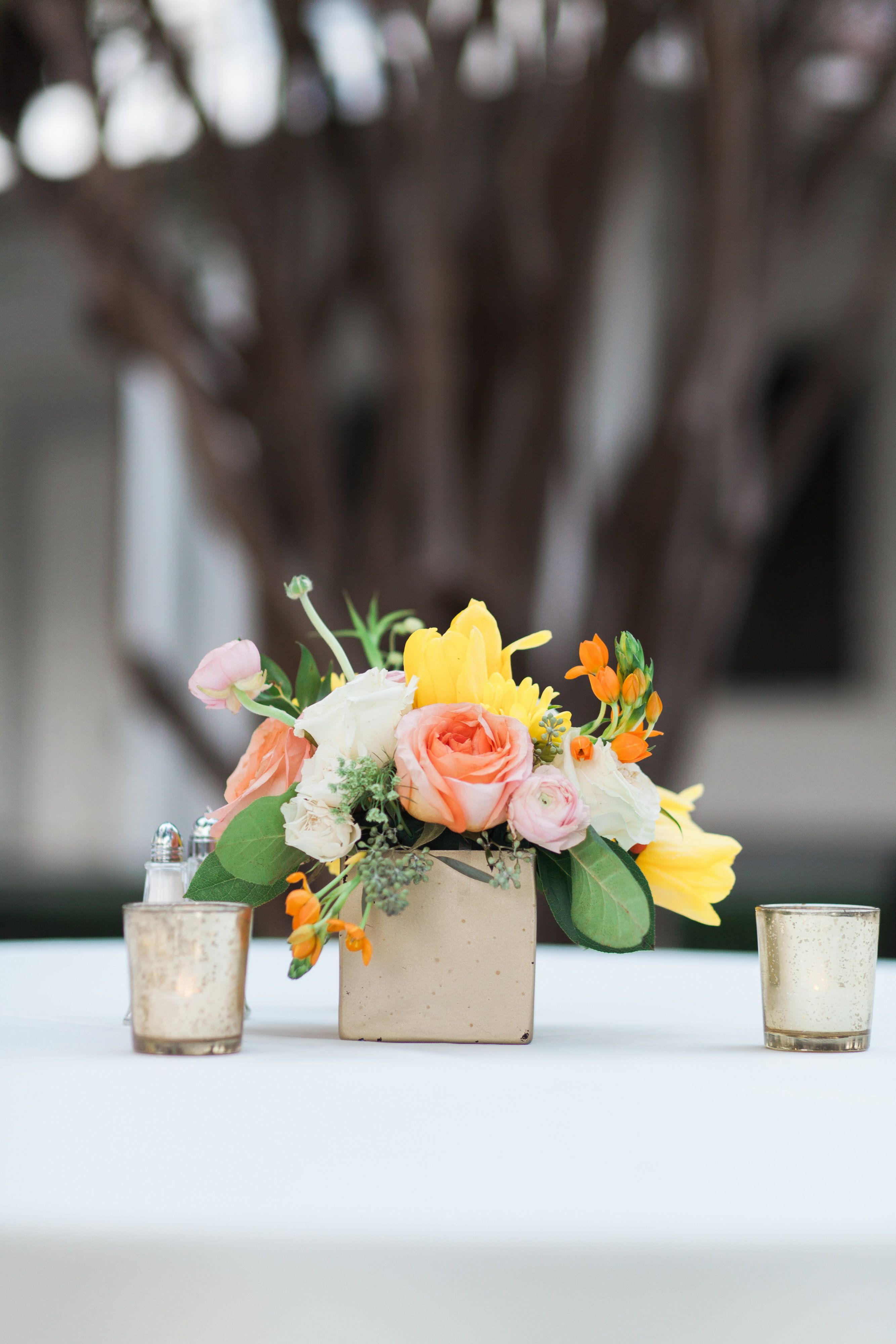 Disch Events provided the simple, yet perfect aesthetic to ...