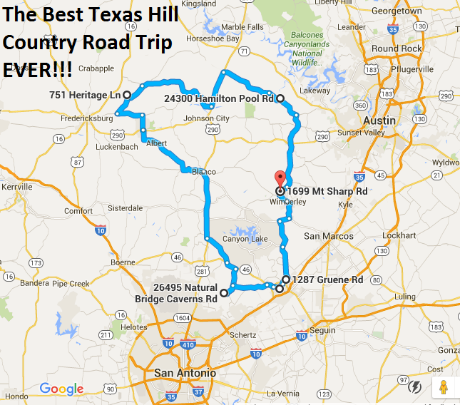 The Ultimate Texas Hill Country Road Trip Is Right Here - And You\'ll ...