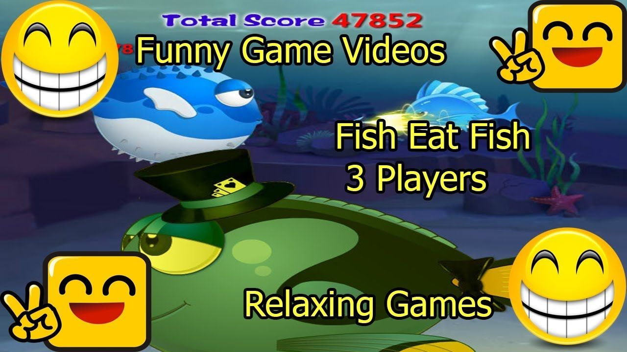 Pin by Tập Chơi Game on Fish Eat Fish 3 Players Relaxing