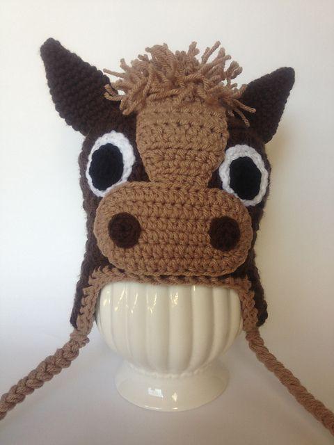 Ravelry  Unicorn   Horse Hat Pattern pattern by Sweet Kiwi Crochet Kandice  Oster ffc9140a81d