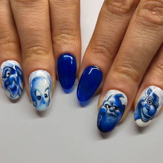 50 Halloween Nails: Designs to Terrify and Delight Your ...